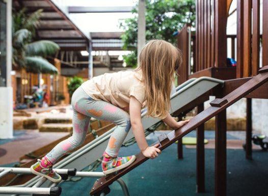 ED Camperdown Child Care Preschool Climbing