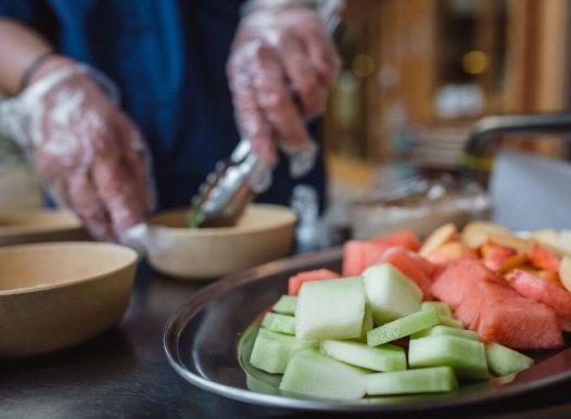 Explore Develop Camperdown Childcare Serving Fruit platter